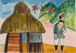 「宇城の民話 「九平どんの大食い」」に関する画像