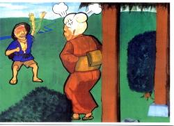 甚平さんと河童の画像3です