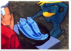 甚平さんと河童の画像7です