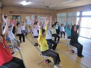 「松橋町八枚戸地区で「いきいき百歳体操」がスタート!」に関する画像