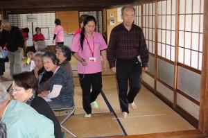「不知火町長崎地区で体力測定を実施しました。」に関する画像