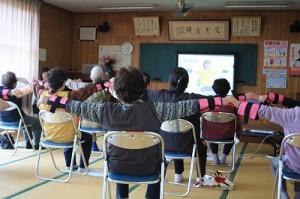 「小川町上住吉地区で「いきいき百歳体操」スタート!」に関する画像