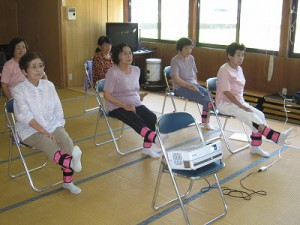 「下巣林地区で「いきいき百歳体操」がスタート」に関する画像