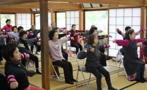 「松橋町北11区で「いきいき百歳体操」がスタートしました!」に関する画像
