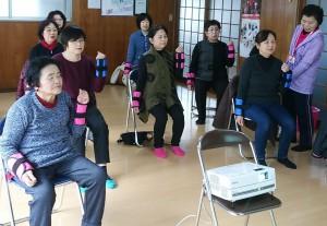 「松橋町12区で「いきいき百歳体操」がスタートしました!」に関する画像