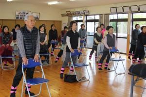 「松橋町久具地区で「いきいき百歳体操」がスタートしました!」に関する画像