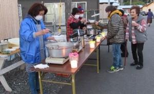 「当尾仮設団地で「ほのぼのあかり」を開催」に関する画像