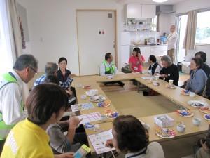 「小川仮設団地で第3回どぎゃん会」に関する画像