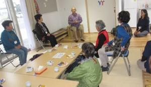 「小川仮設団地で第4回どぎゃん会を開催」に関する画像