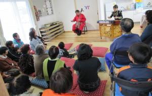 「小川仮設団地で第12回「どぎゃん会」を開催」に関する画像