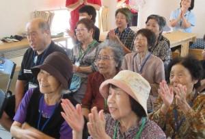「当尾仮設団地で第24回「どぎゃん会」を開催」に関する画像