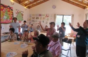 「当尾仮設団地で第39回「どぎゃん会」を開催」に関する画像
